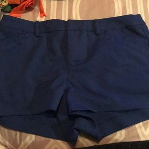 H&M Royal blue shorts